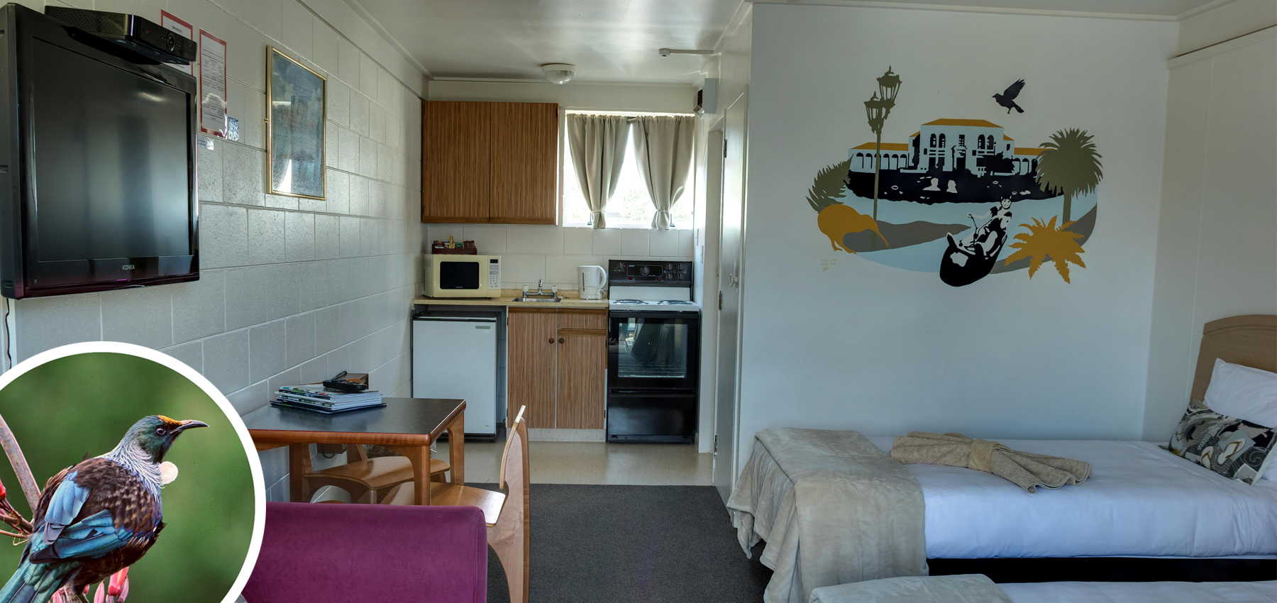 Palmerston North Accommodation - Tui Unit